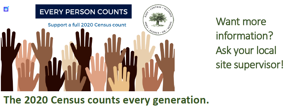 2020 Census Table Tent Cards