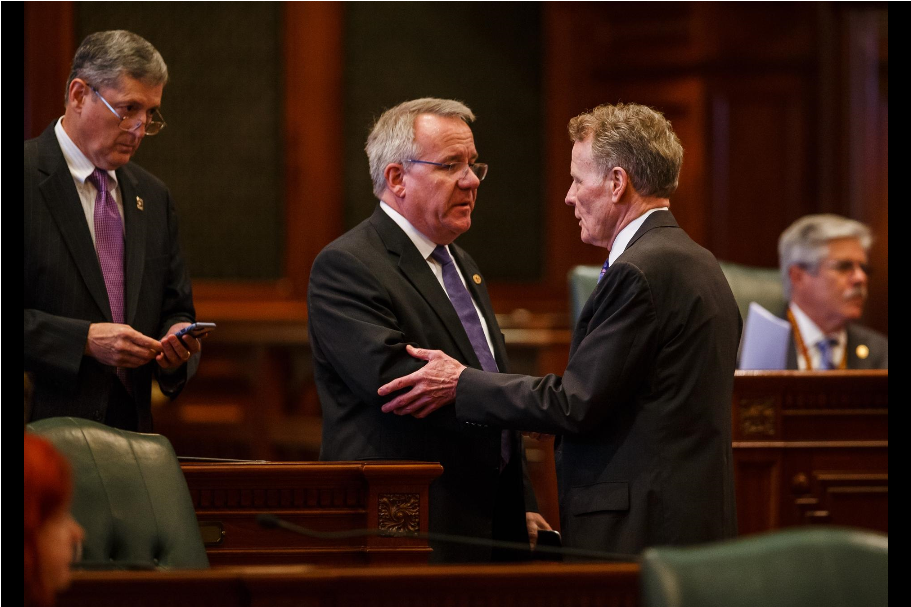 House overrides Rauner 2 year state budget impasse ends